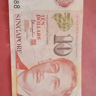 $10 note~nice nos 458888