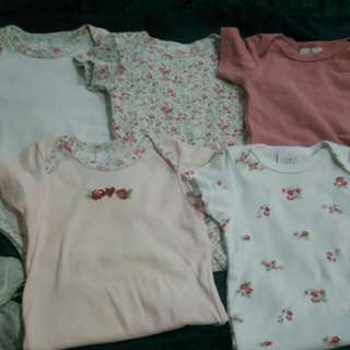 Laura Ashley onesies 3- 6 months