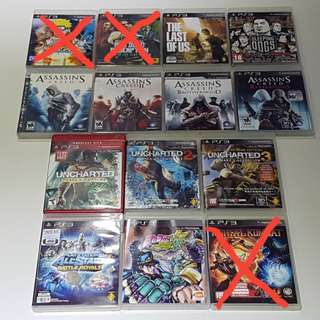 (USED) PS3 Games