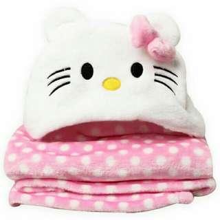Fleece Hoodie Blanket