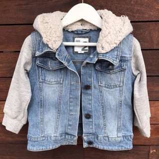 Cotton On Kids denim jacket size 2