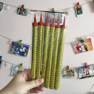 Birthday Sparkling Candles 20cm