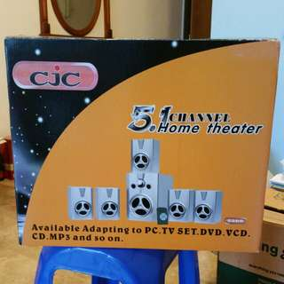 5.1 channel home theater. CJC