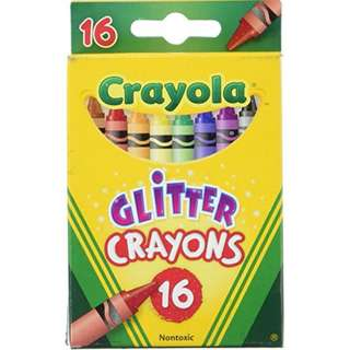 Crayola Glitter Crayons 16 (523716)