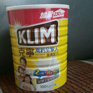 克寧高鈣奶粉