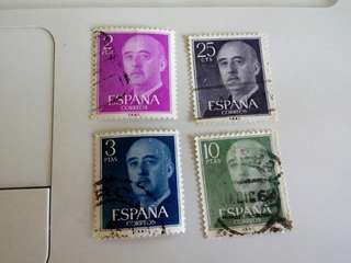 Spain Stamps#M43