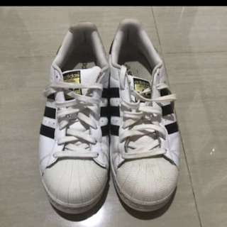 Original adidas shoes superstar white black / sneakers sepatu (nike,converse,new balance,puma)