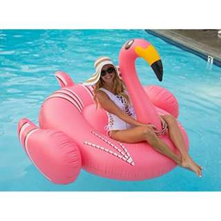 Giant Inflatable Flamingo Floater