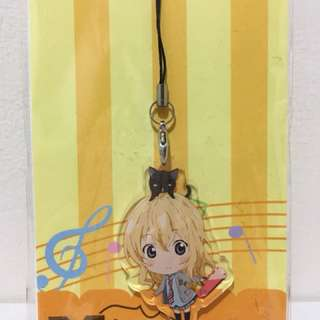 Your Lie in April Cell Phone Charm Acrylic Strap Kaori Miyazono
