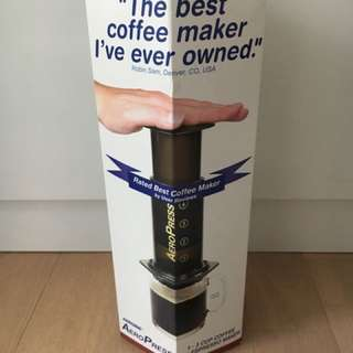 AeroPress used only once