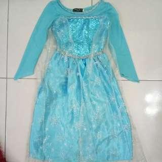 "Kid ""Frozen Elsa Dress"""