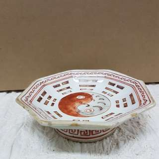 Vintage Ceramic Bowl with stand