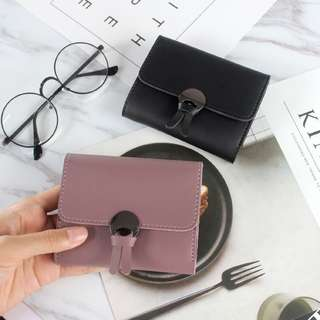 Purple Card Holder / Wallet