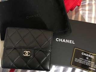 Chanel classic wallet 銀包
