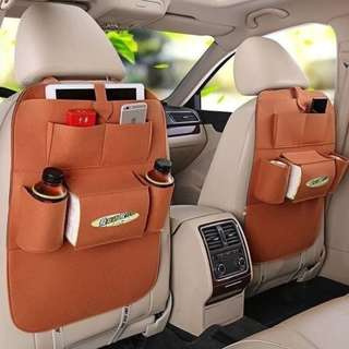 Auto Car Backseat Organizer Car Multi-Pocket Storage(PO)