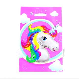 🦄 Unicorn party supplies - party loot bags/ piñata bags / goodie bags