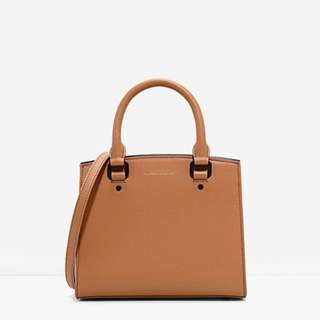 Charles n Keith basic structured bag