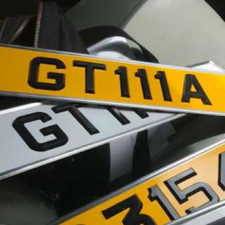 Number Plate GT111A