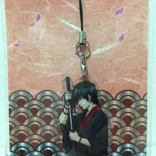 Gin Tama April Cell Phone Charm Acrylic Strap Toshiro Hijikata