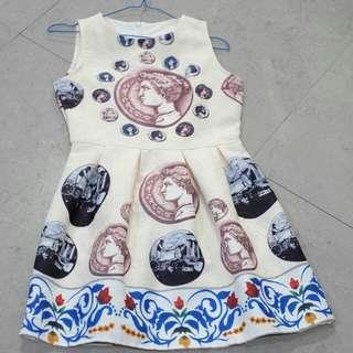Mini dress scuba