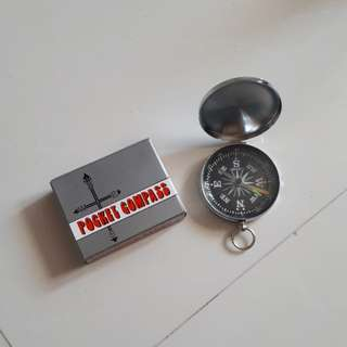 Compass with cover