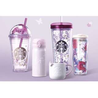 Starbucks korea 2018 spring butterfly series