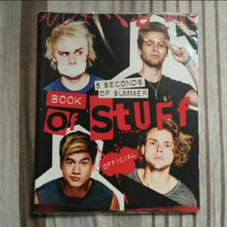 BRAND NEW 5 Seconds of Summer Book of Stufd