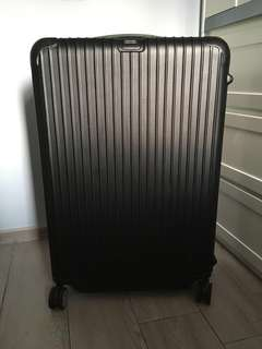 "Rimowa Salsa 32"" 97L Matte Black Polycarbonate Suitcase Luggage"