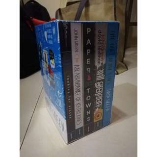 BRANDNEW: John Green Boxed Set (5 books)