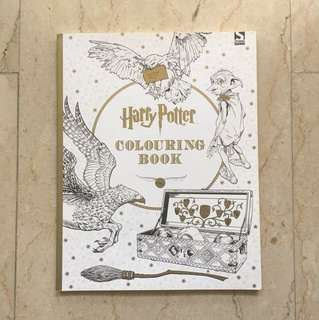 Brand New Harry Potter Coloring Book