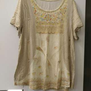 Franche Lippee 3D tee new (上圍38吋及腰42吋)