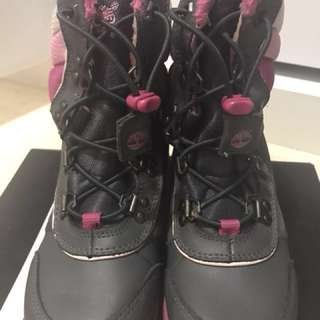 Timberland Youth Girls' Thermolite Snow Ski Winter boots