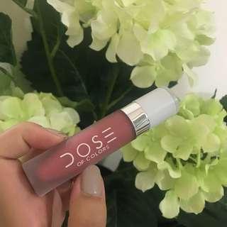 Dose of colours liquid lipstick