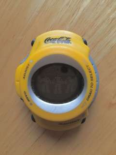 Coca-Cola Rap-disc game watch (special edition)