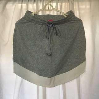 Grey & White Skirt