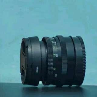 Lensa Carl Zeiss 50mm f2.8 bisa untuk canon sony fuji nikon