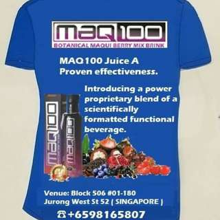 MAQ100 THE MOST COMPLETE HEALTH DRINKNOW AVAILABLE. 98165807