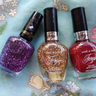 Wet n' Wild Fergie Nail Polish Collection