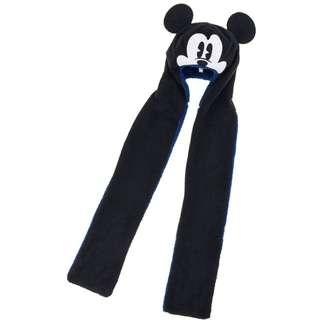 Disney Mickey Mouse 冷帽連頸巾