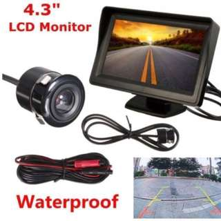 Car Van Reverse Camera - Brand New, With LCD, Night Vision