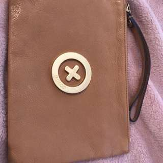 Mimco tan pocket