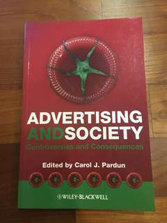 Advertising and Society by Carol J. Pardun