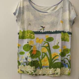 Franche Lippee new tee (上圍36吋及腰35吋)