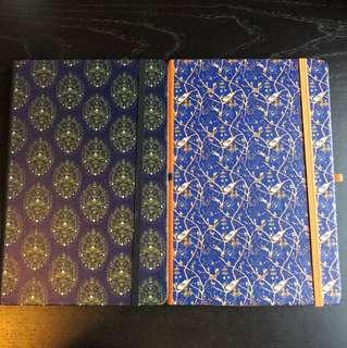 記事簿/note book兩本