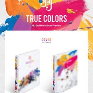 [Pre order ] JBJ TRUE COLORS