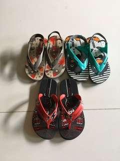 3 pairs Ipanema Slipper baby boy