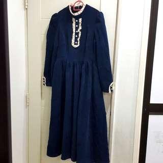 🆕️Dark blue long dress