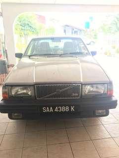Volvo, cash, no dealers