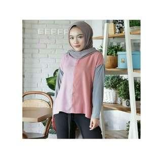 SI colourfull aisyah blouse