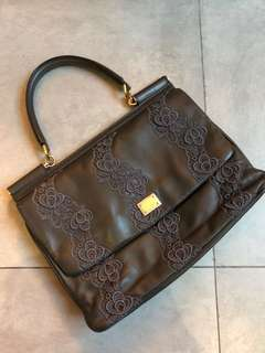 D&G leather bag